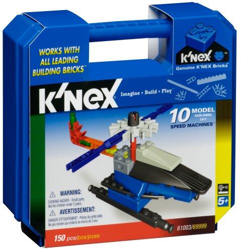 Knex  Speed Machines 10 Model Building Set- 154 pcs