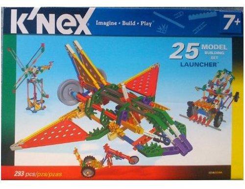 Knex 25 Model Building Set Launcher
