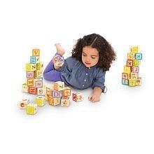 Imaginarium Wooden Alphabet Blocks - 40-Piece by Toys R Us