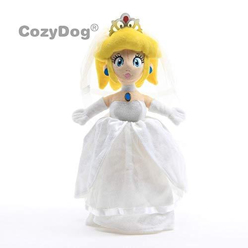 Super Mario Odyssey Princess Peach Bride Wedding Plush Doll Game Toys Stuffed Animals Soft Dolls Deluxe 33 cm Children Gift