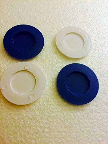 4 Sealing Disks Reborn OOAK Bottle Boy Dark Blue White Reborn Baby Doll Bottles