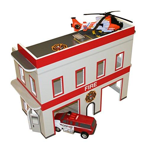 Fire Station Dollhouse Kids Dollhouse