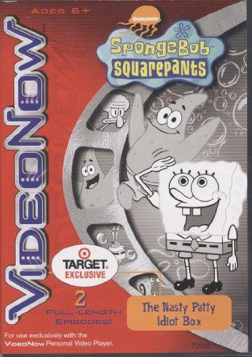 VideoNow Personal Player SpongeBob Squarepants ~ The Nasty Patty Idiot Box