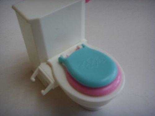 Bathroom Toilet Vintage Dollhouse Furniture 1996