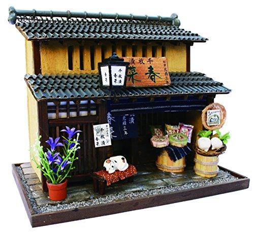 Billy handmade Dollhouse Kit Kyoto series Kyomachiya Kit II pickles shop 8503 japan import
