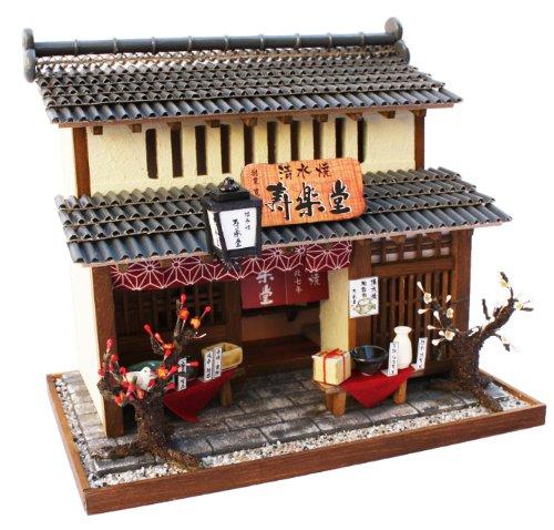 Billy handmade Dollhouse Kit Kyoto series Kyomachiya Kit II pottery shop 8504 japan import