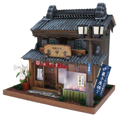 Internal structure of the 8614 Billy handmade Dollhouse Kit Road Series Road Kawagoe Kawagoe japan import