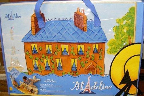Madeline Doll Pop-Up House 2003 Dollhouse