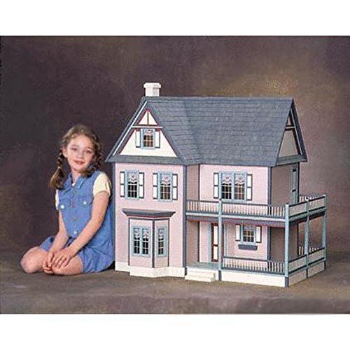 Real Good Toys Victorias Farmhouse Dollhouse Kit - 1 Inch Scale