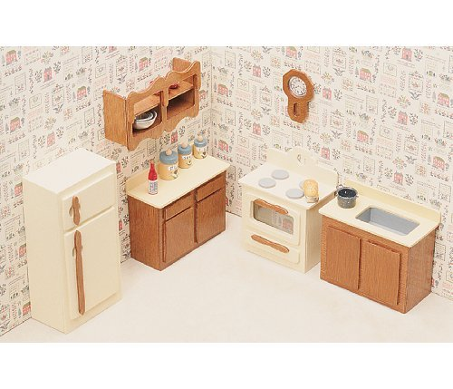 Dollhouse Furniture Kit-Kitchen parallel import goods