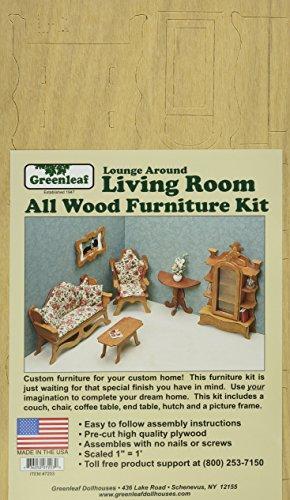 Dollhouse Furniture Kit-Living Room
