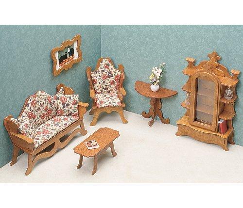 Dollhouse Furniture Kit-Living Room Color Living Room Model