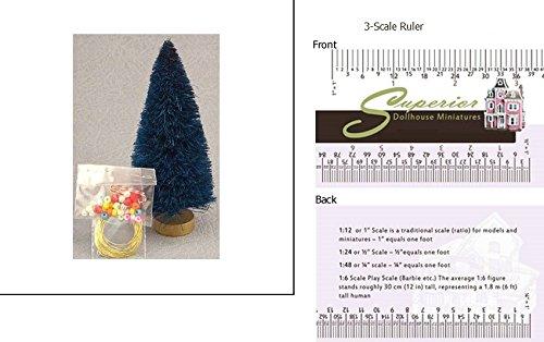 Dollhouse 4 Birch Christmas Tree Trim Kit
