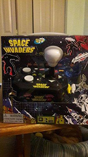 Space Invaders Plug n Play TV Mini Arcade VideoGame -- Retro Classic Rare Handheld