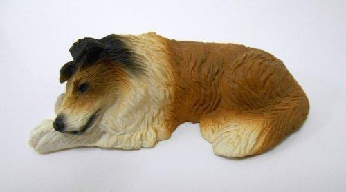 Falcon Dolls House 112 Scale Miniature Accessory Pet Lassie Dog Sleeping Collie