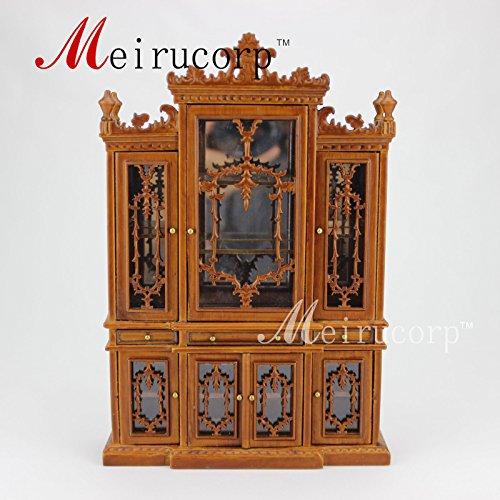dollhouse 112 scale miniature furniture Elegant Dining room Cabinet