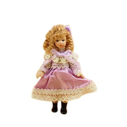 Dimart Happy Family Mini Lovely Little Girl - 112 Dollhouse Miniature Furniture - Multicolor