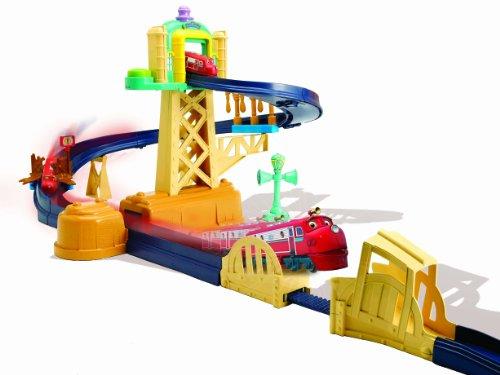 Chuggington Training Yard Playset With Jump Bridge And Wilson