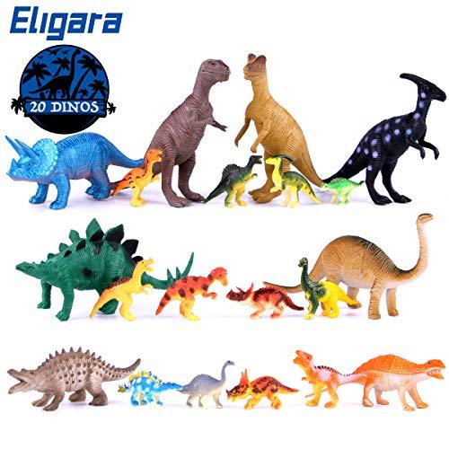 Anyow Dinosaur Toys PlaySet 20 Pcs 8Pcs 6712Pcs 255 Dinosaur Figure Toy Set Jurassic World Learning Resource Realistic Dinosaur Figures Girls Boys