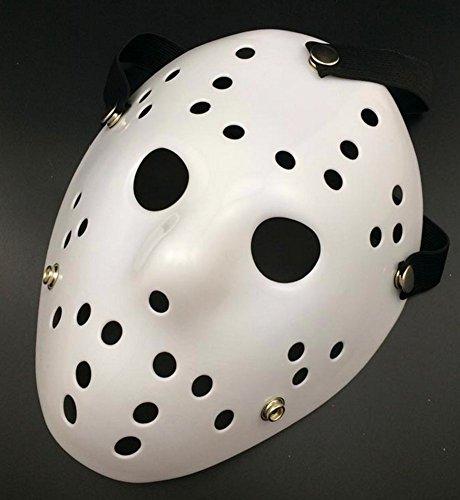 Gmasking Friday The 13th Horror Hockey Jason Vs Freddy Mask Halloween Costume Prop White