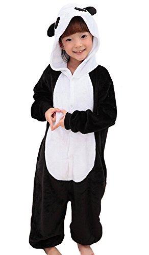 Tonwhar Childrens Halloween Costumes Kids Kigurumi Onesie Animal Cosplay 105height4527-492 Panda