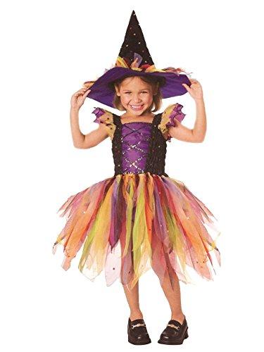 Lets Pretend Childs Glitter Witch Costume Medium