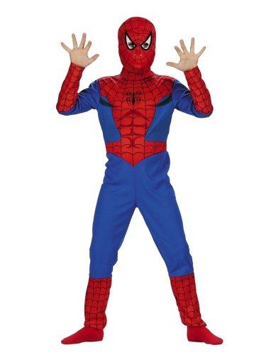 Marvel Comics Boys Spiderman Costume with Mask