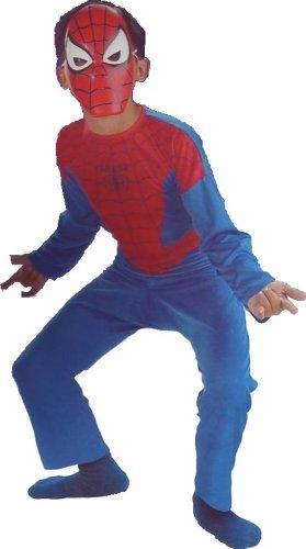 Spider Man Costume Spiderman Child Size 7-8
