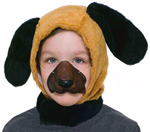Forum Novelties Child Size Animal Costume Set Dog Hood and Nose Mask