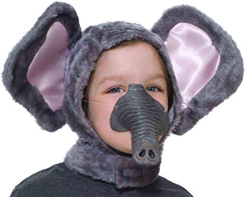 Forum Novelties Child Size Animal Costume Set Elephant Hood and Nose Mask