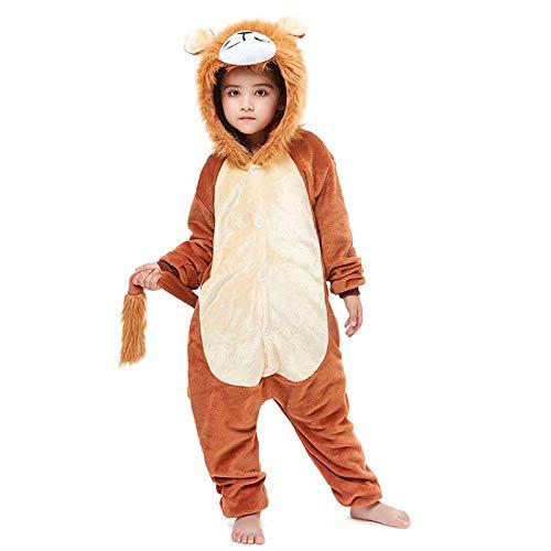 Kid Onesie Cosplay Lion Sleepwear Animal Costume Children Onesies Pajamas for Halloween or Christmas