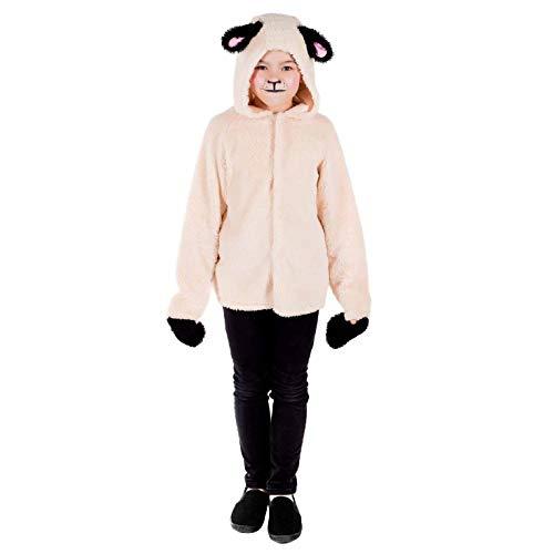 Kids Sheep Costume Childrens Lamb Animal Christmas Nativity Play Outfit - Small