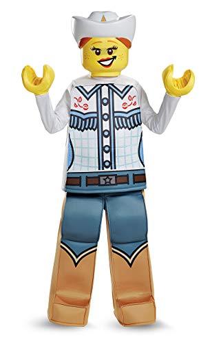 Disguise Lego Cowgirl Prestige Costume Multicolor Large 10-12