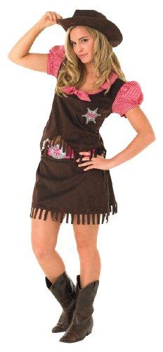 Medium Ladies Cowgirl Costume