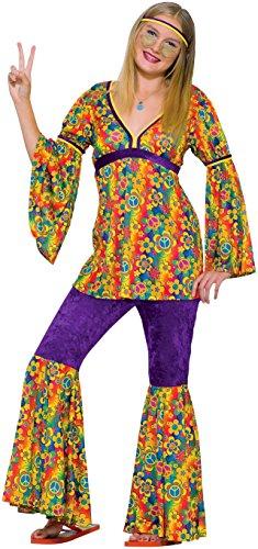Forum Novelties Childrens Costume Teenz - Purple Haze Hippie Ages 14 to 18