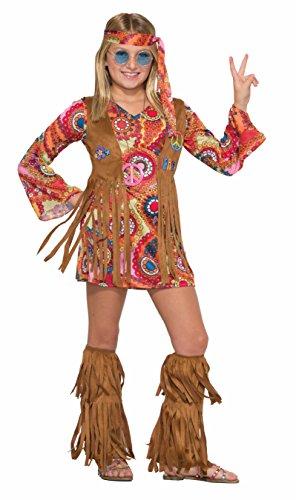 Forum Novelties Kids Peace Lovin Hippie Costume Multicolor Small