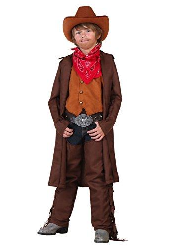 Little Boys Wild West Cowboy Costume - 4T