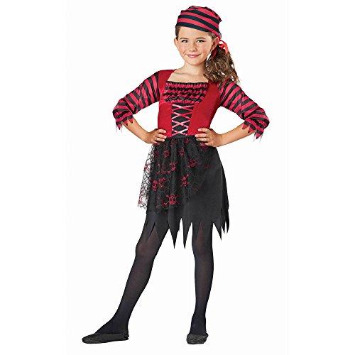 Girls PIRATE Halloween Costume Medium