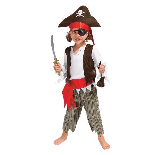 Kids Pirate Halloween Costume LG 4-6