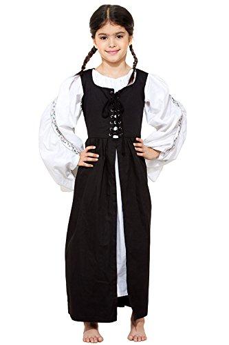 Childs Renaissance Medieval Costume Dress XL 12 yrs