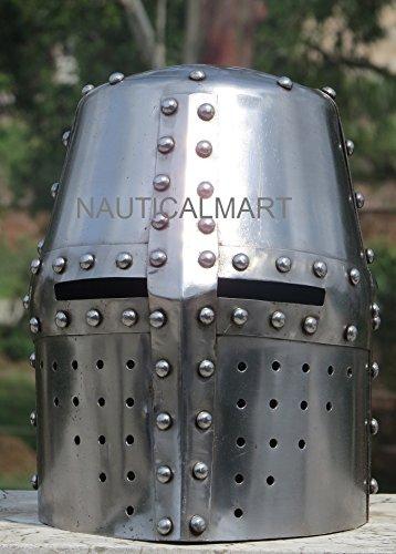 NAUTICALMART MEDIEVAL COSTUME ARMOR CRUSADER HELMET