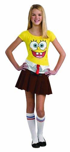 Spongebob Costume Teen Sponge Babe