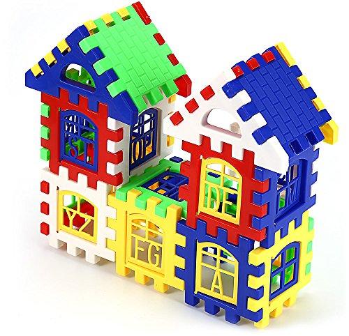 R&L House DIY Building Blocks Intelligent Toy for Kids - COLORMIX