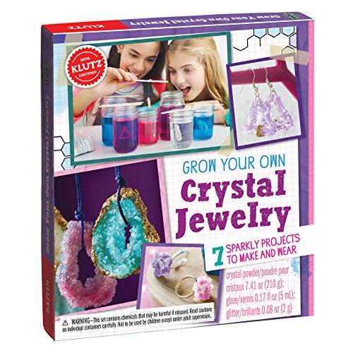 KLUTZ Grow Your Own Crystal Jewelry Science Kit