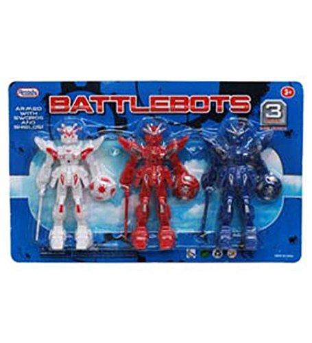 3pc Battlebots Figures 45in Case of 24