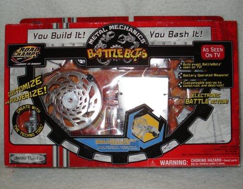 BattleBots by Road Champs Metal Mechanics Backlash BOZ-BCK 105279-01