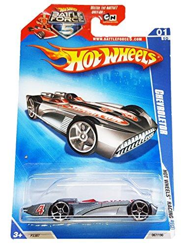 Hot Wheels - 067190 - Hot Wheels Racing 0110 - Chevroletor on Battleforce 5 Card