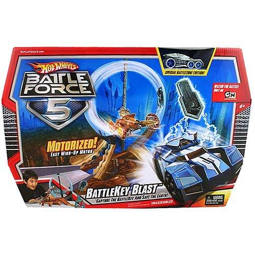 Hot Wheels Battleforce 5 Battlekey Blast Track Set
