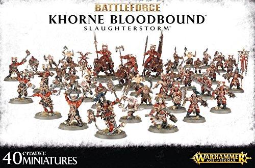 Warhammer Age of Sigmar Battleforce 2016 Khorne Bloodbound Slaughterstorm