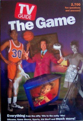 TV Guide the Trivia Board Game